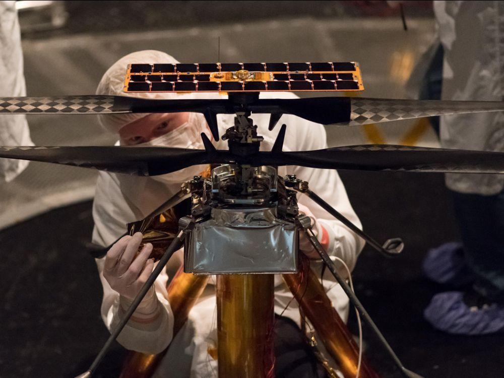 Priorité à la mission Mars 2020