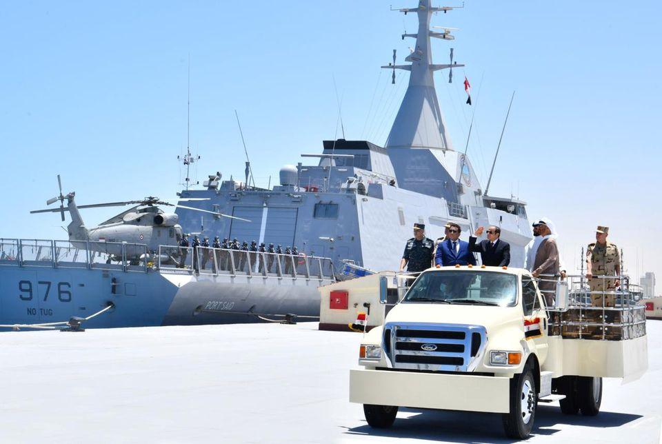 Nouvelle base navale égyptienne près des côtes libyennes