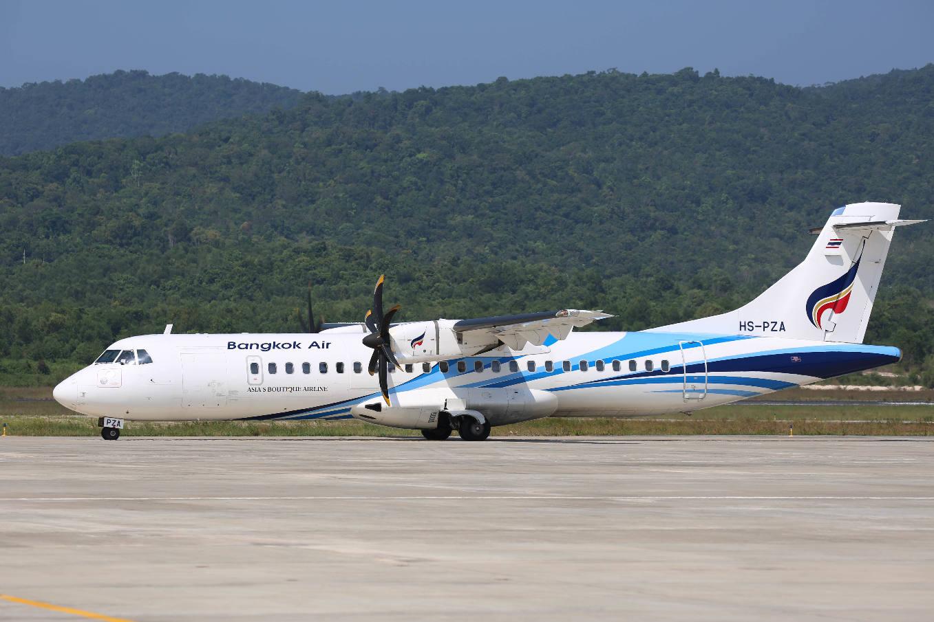 Singapore Airshow 2018 : Bangkok Airways reprend des ATR 72-600