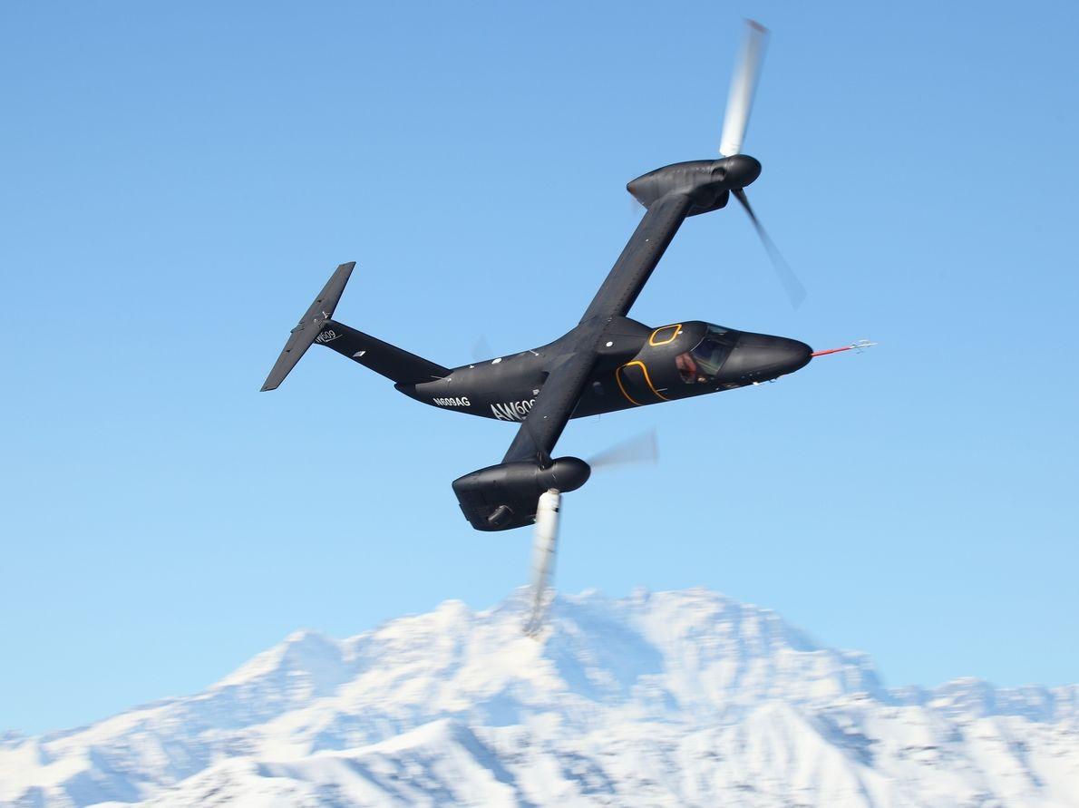 AgustaWestland améliore l'AW609