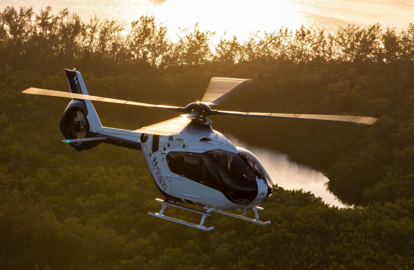 Airbus H135 : première pose pour la future FAL chinoise