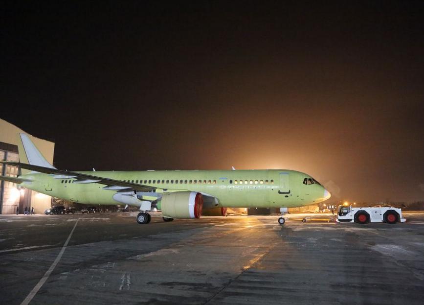 Irkut Corporation a terminé la construction du quatrième avion d'essai en vol MC-21-300
