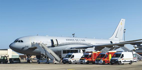 Première mission d'EVASAN pour l'A330