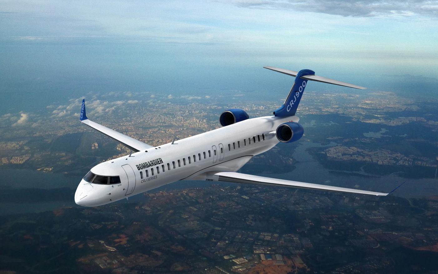 Bombardier allonge l'intervalle de maintenance des CRJ700, 900 et 1000