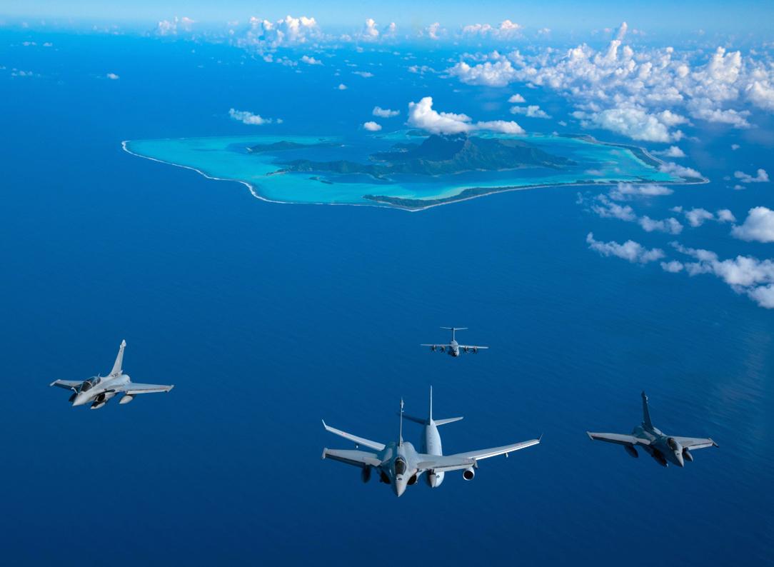 Le raid des Rafale à Tahiti: Heifara Wakea Jour 3 et 4
