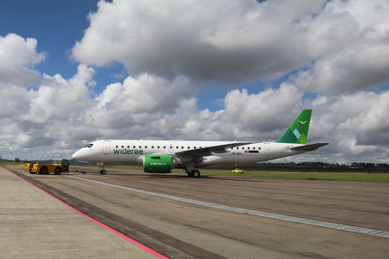 Wideroe réceptionne son premier Embraer E190-E2