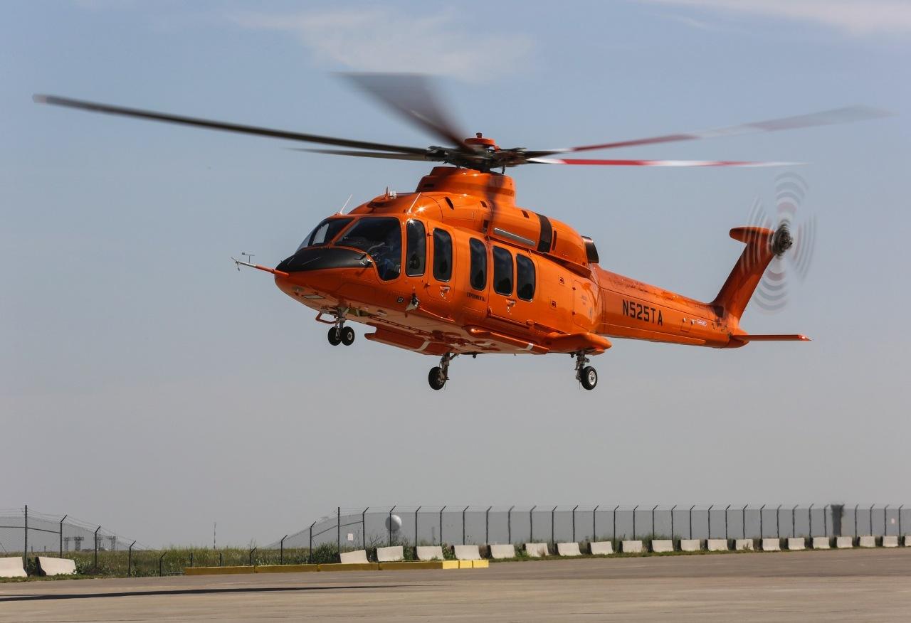 Le premier Bell 525 s'écrase au sol