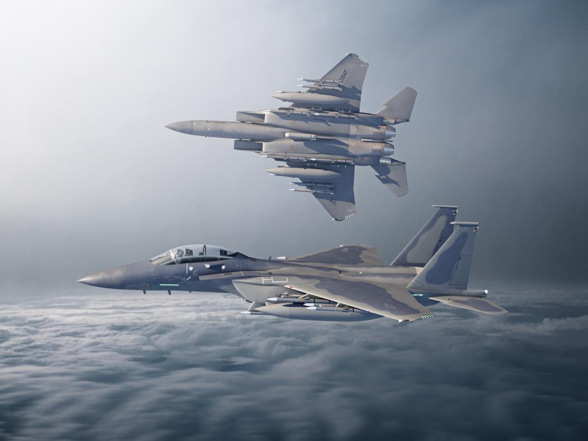 Boeing sélectionne le radar  PG-82(V)1 pour le F-15EX.
