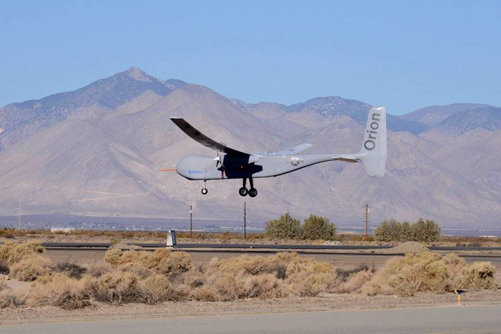 Le drone bimoteur Orion sera certifié