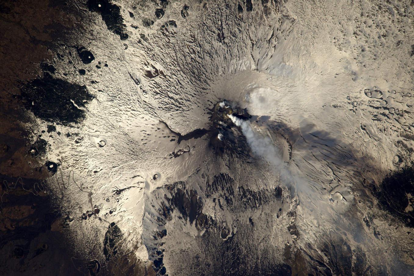 La Terre dans l'oeil de Thomas Pesquet #45 : l'Etna