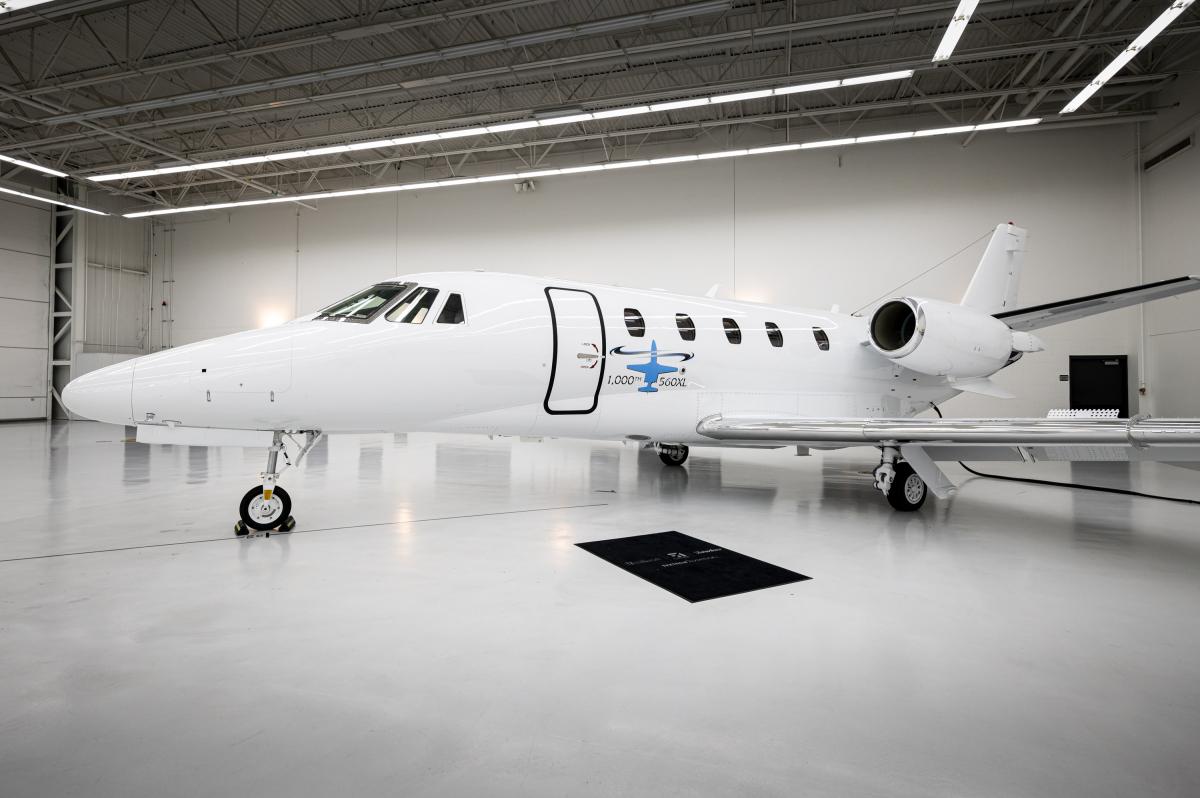 Cessna livre son 1 000ème Citation XLS+
