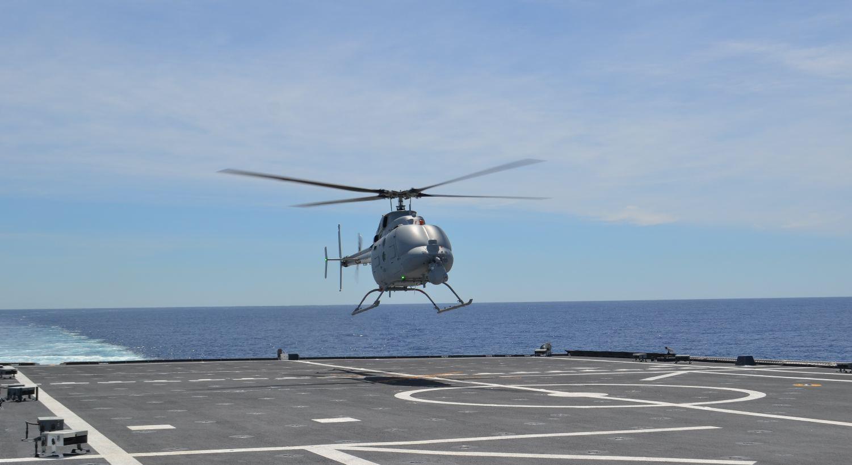 Essais en mer pour le MQ-8C
