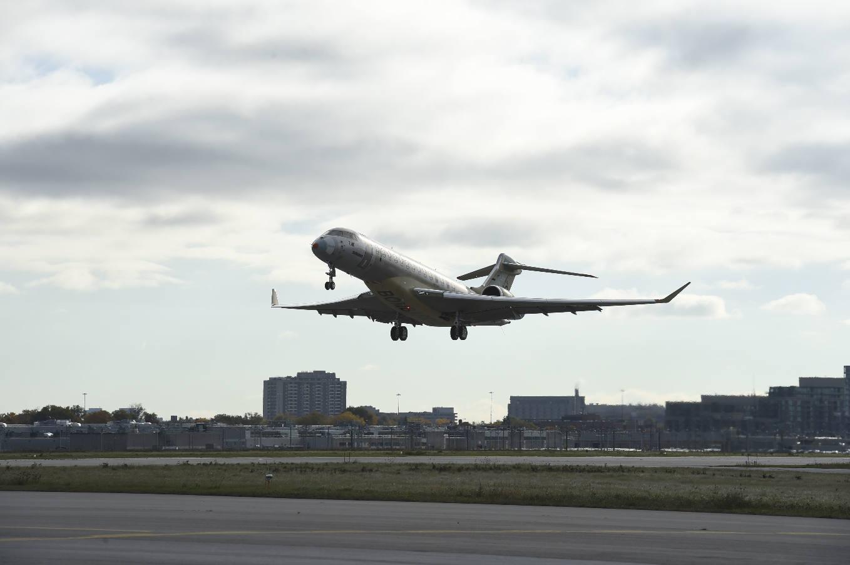 Les Bombardier Global en bande Ka