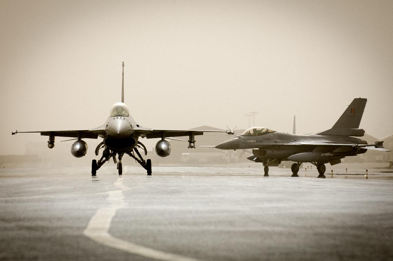 Les F-16 belges frapperont en Syrie