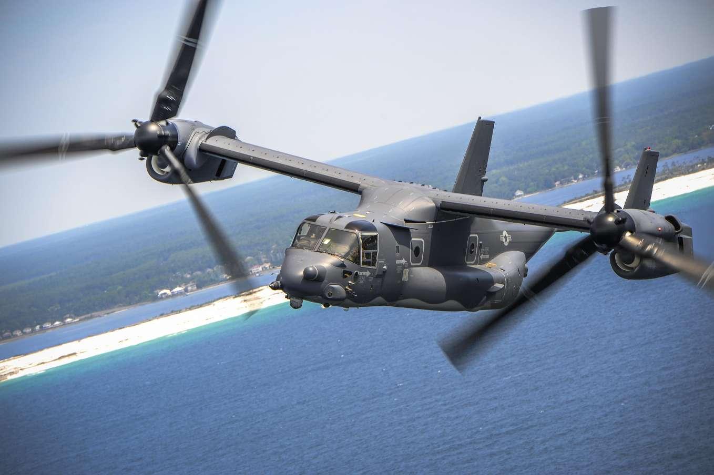 Des CV-22 Osprey américains au Japon