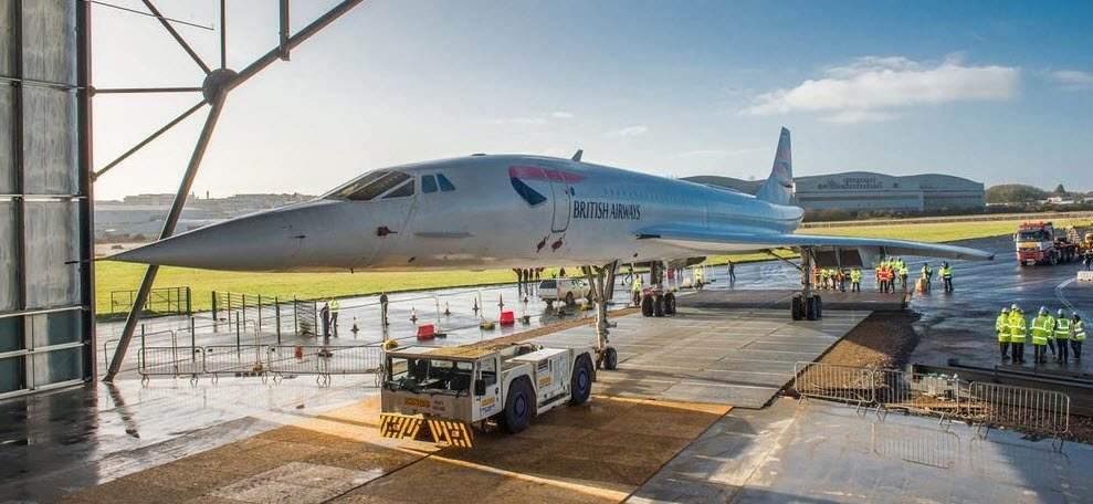Le Concorde, star du nouveau musée Aerospace Bristol