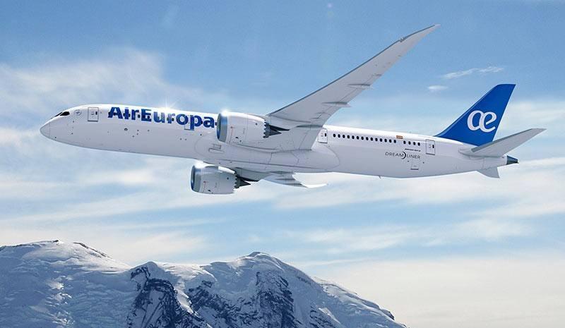 Air Europa va aligner le Boeing 787 sur Paris-La Havane