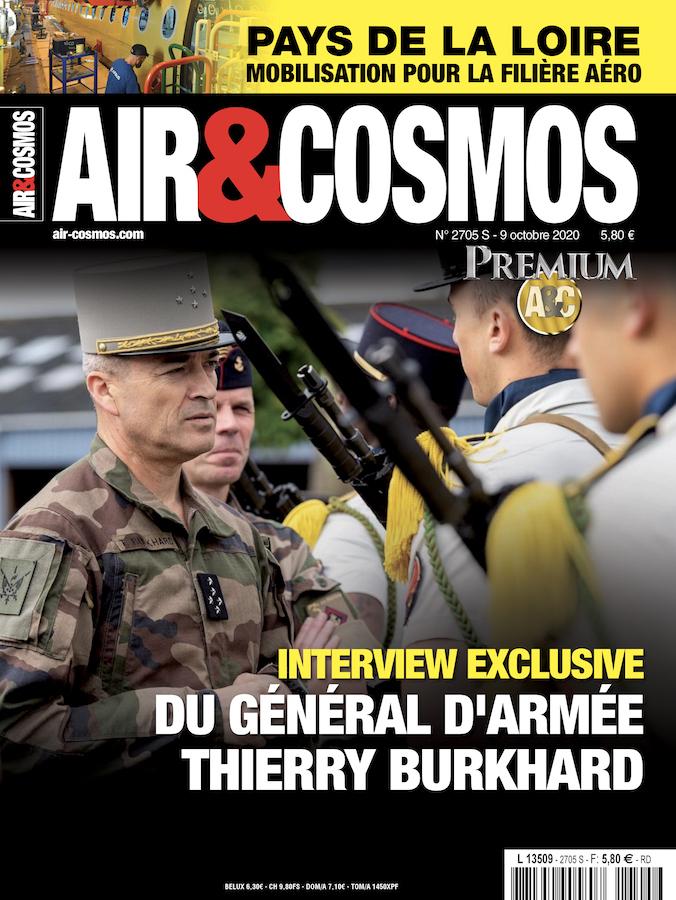 Interview du CEMAT, filière aéro en Pays de la Loire, ArianeGroup sur Artemis 3, dans Air et Cosmos 2705 du 9 octobre 2020