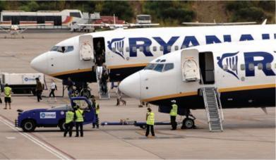 Ryanair de nouveau épinglée pour travail dissimulé