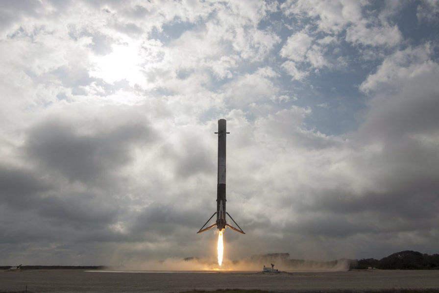 Le Dragon CRS-10 en route vers l'ISS