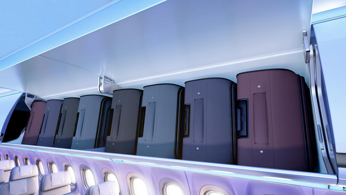 American Airlines augmente ses rangements bagages cabine.