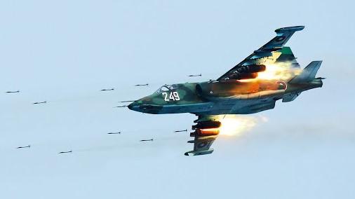 Israël vise le stock des Su-25 géorgiens