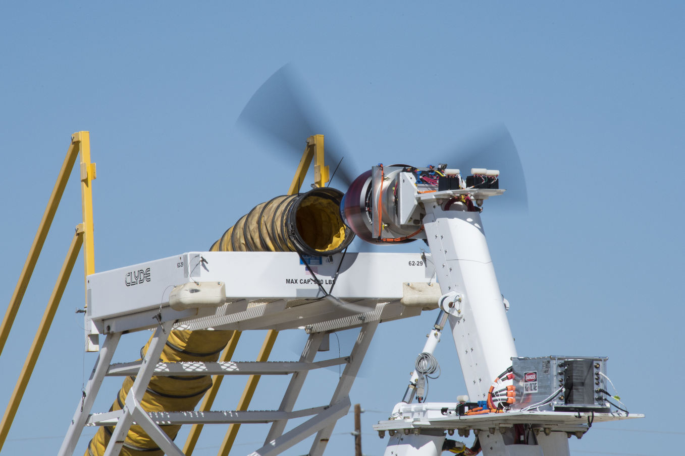 La Nasa teste les futurs moteurs du X-57