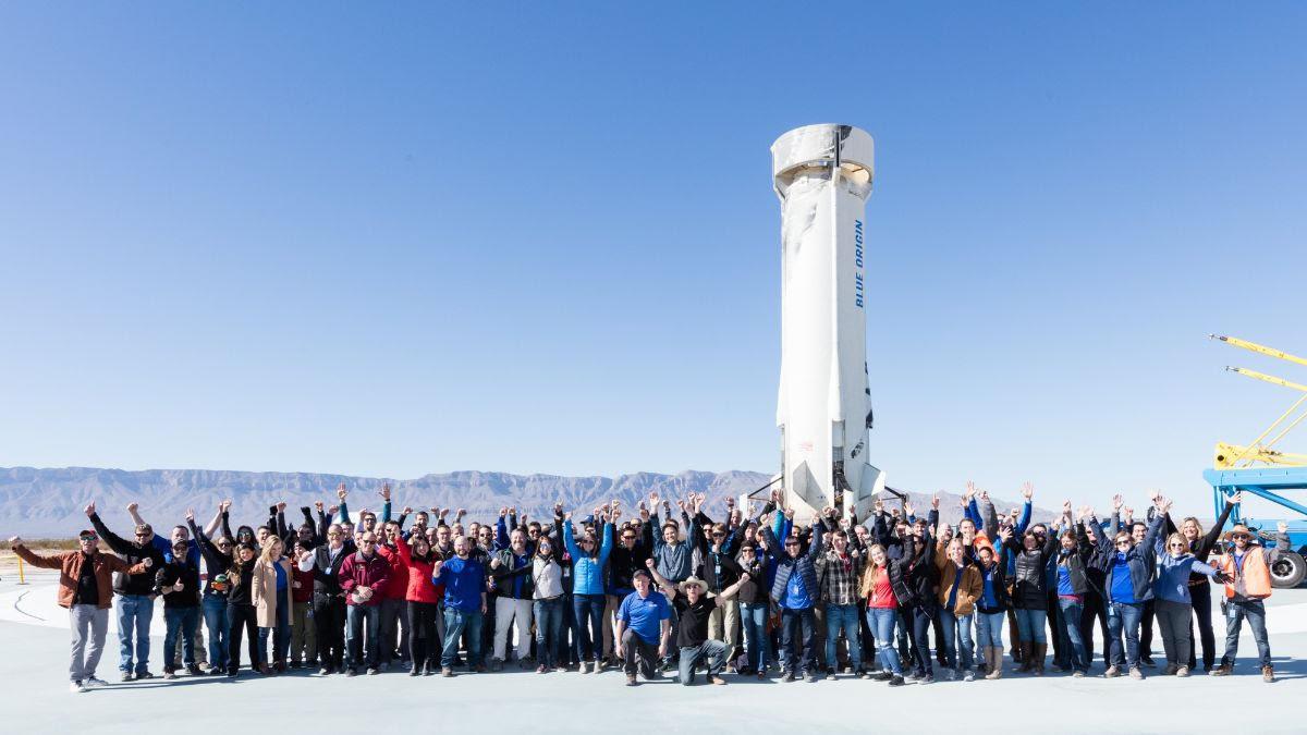 Blue Origin réussit la dixième mission du New Shepard