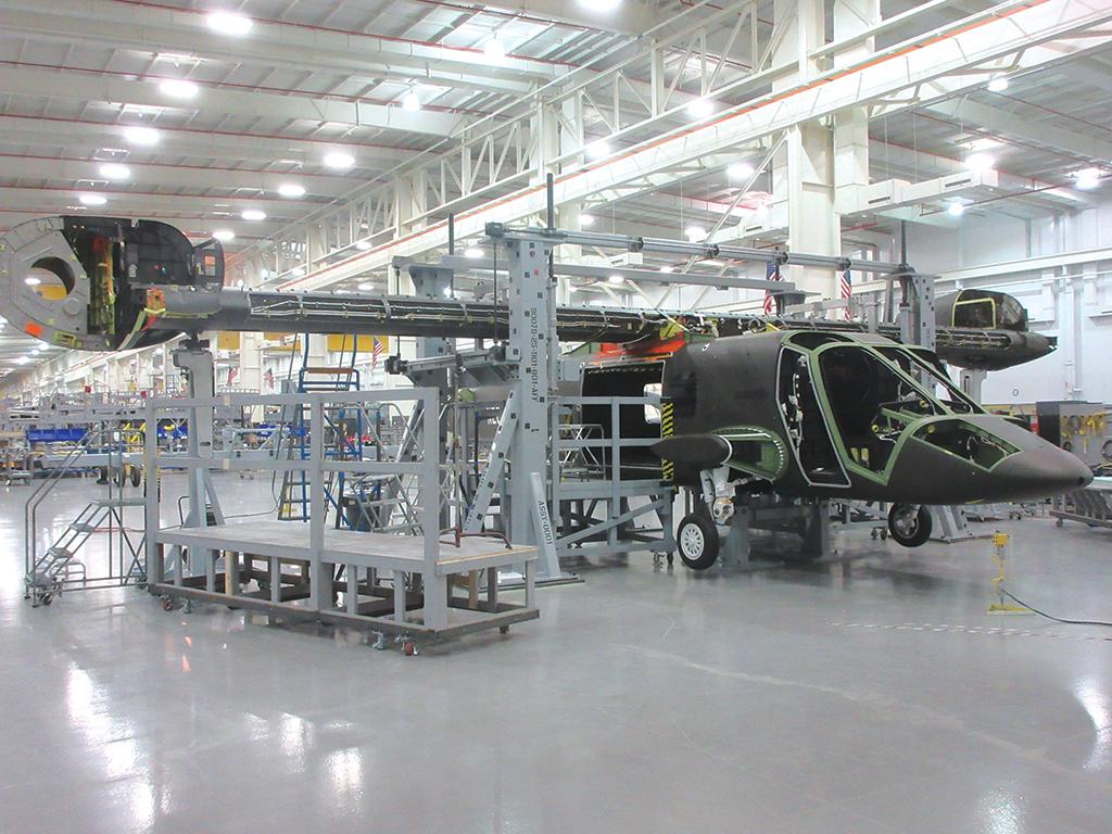 Le V-280 est en cours d'assemblage final