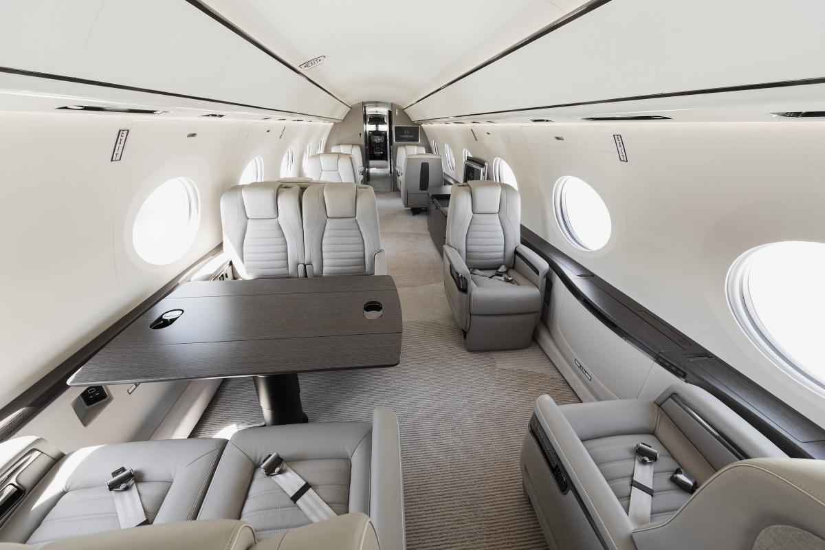 Un sixième et dernier G700 pour les essais en vol