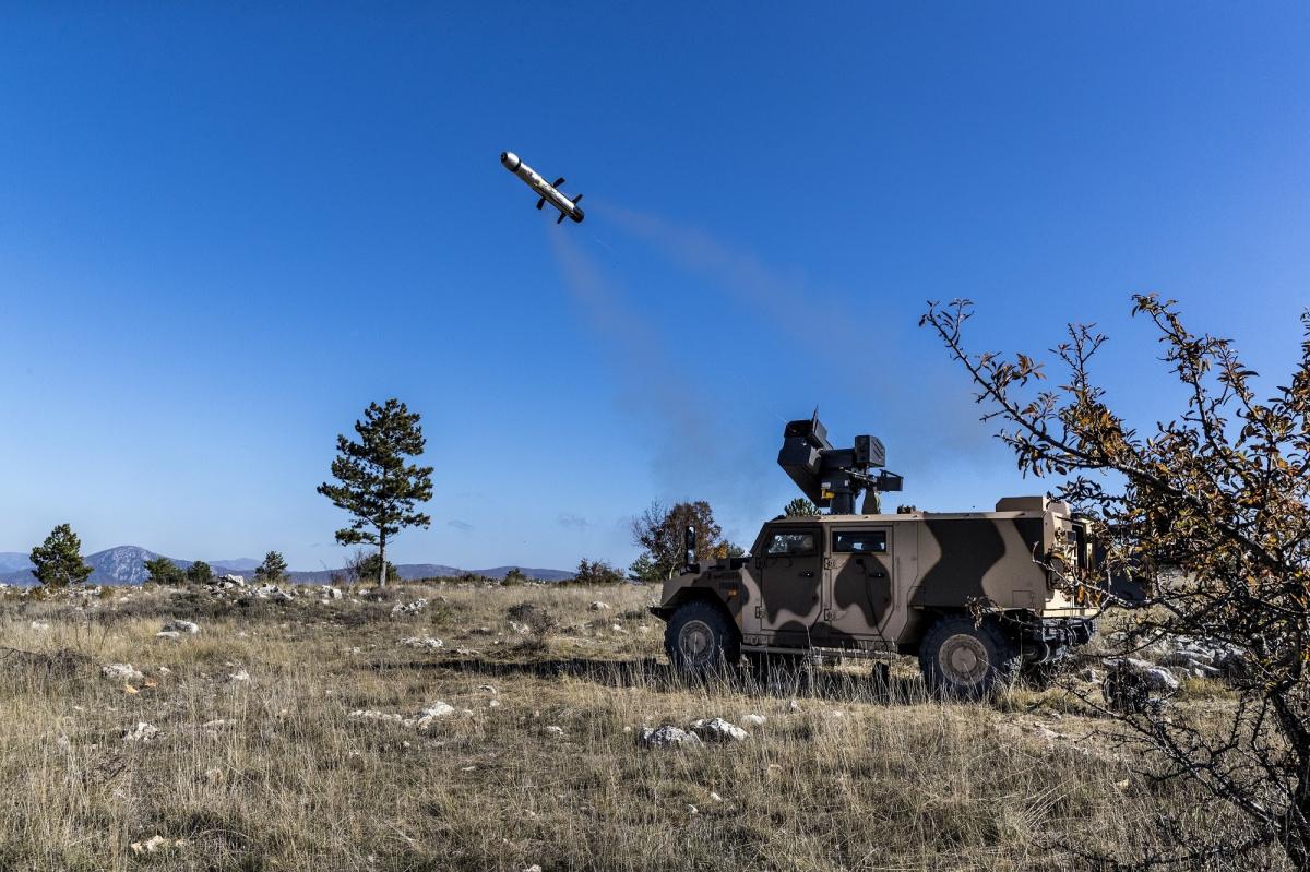 MBDA : missile MMP tiré d'une tourelle téléopérée