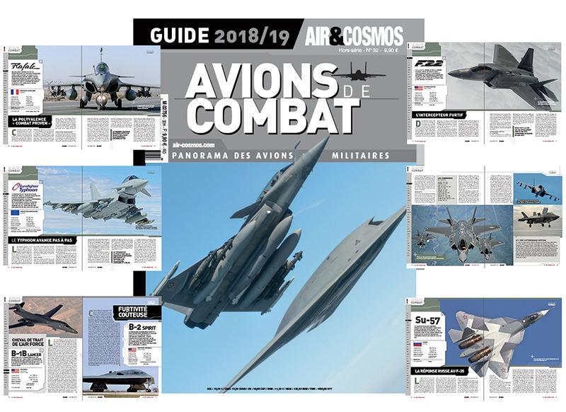 Air & Cosmos publie son « Guide Avions de combat 2018-2019 »