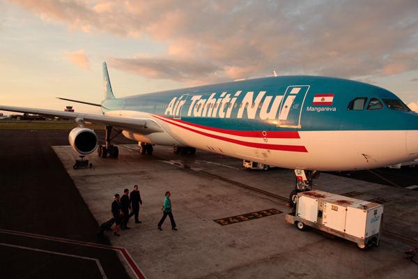 Air Tahiti Nui choisit l'eX3 de Panasonic pour ses Boeing 787