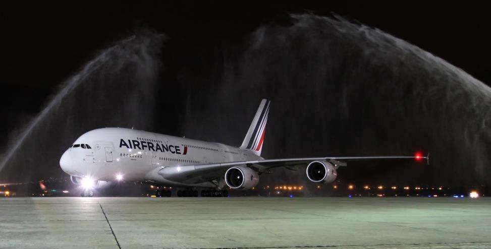 Air France : trois Airbus A350 contre 2 Airbus A380
