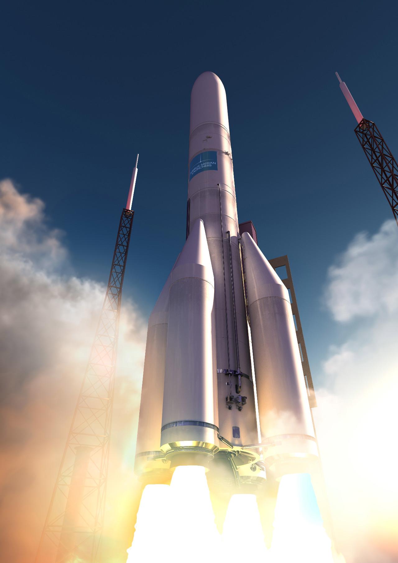 Première revue de conception finalisée pour Ariane 6
