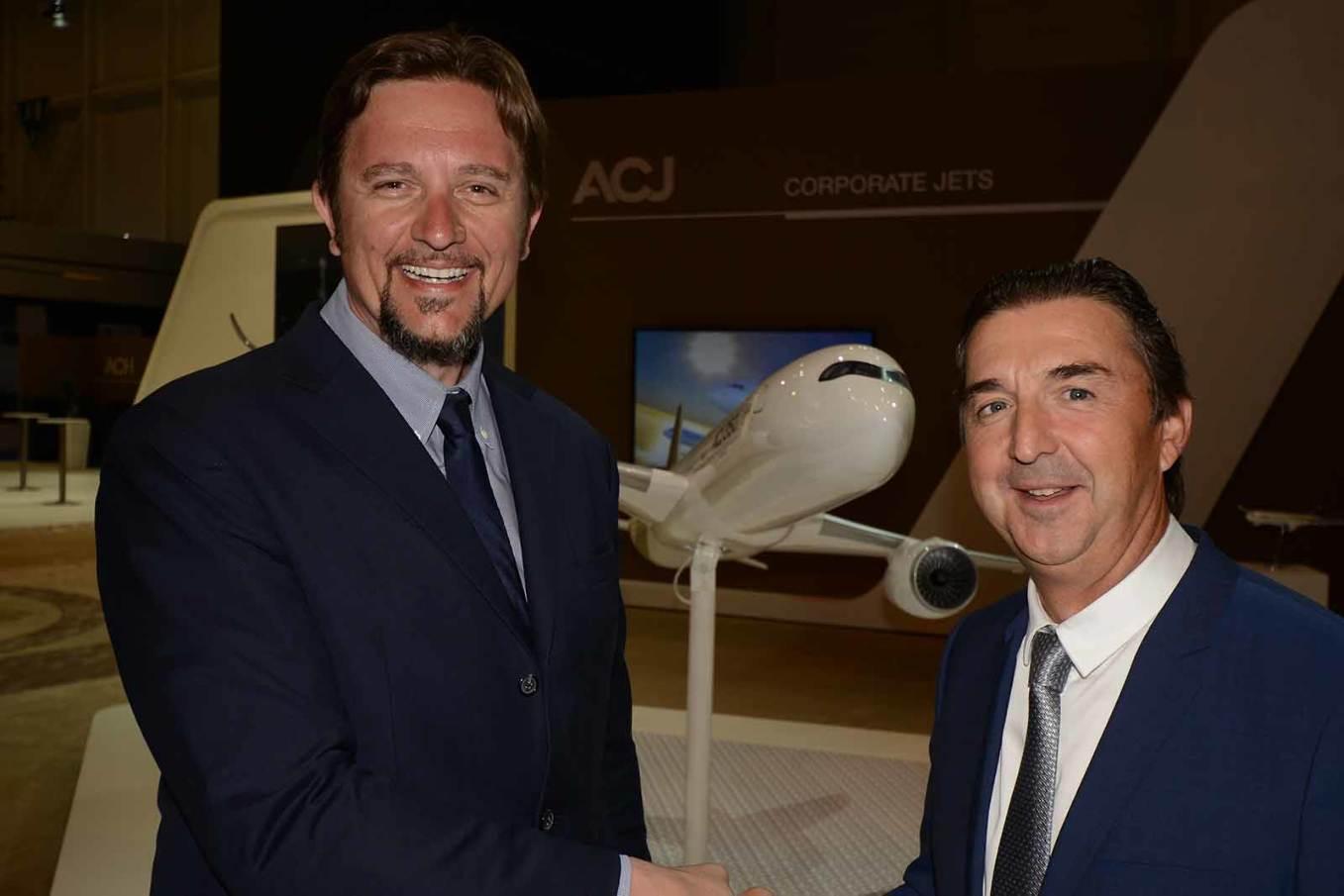 Sabena Technics agréé par Airbus Corporate Jets