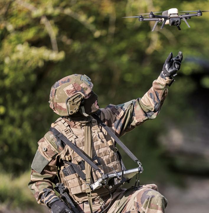 L'Armée de Terre souhaite se doter de 2 000 systèmes de drones