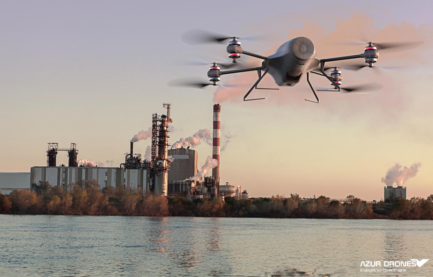 Azur Drones reçoit un prix pour sa solution Skeyetech