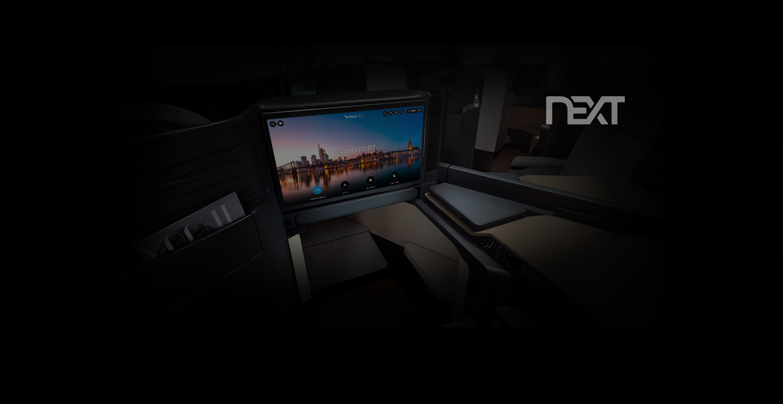 "Aircraft Interiors 2017 : Panasonic lance son nouveau portail IFE ""Next"""