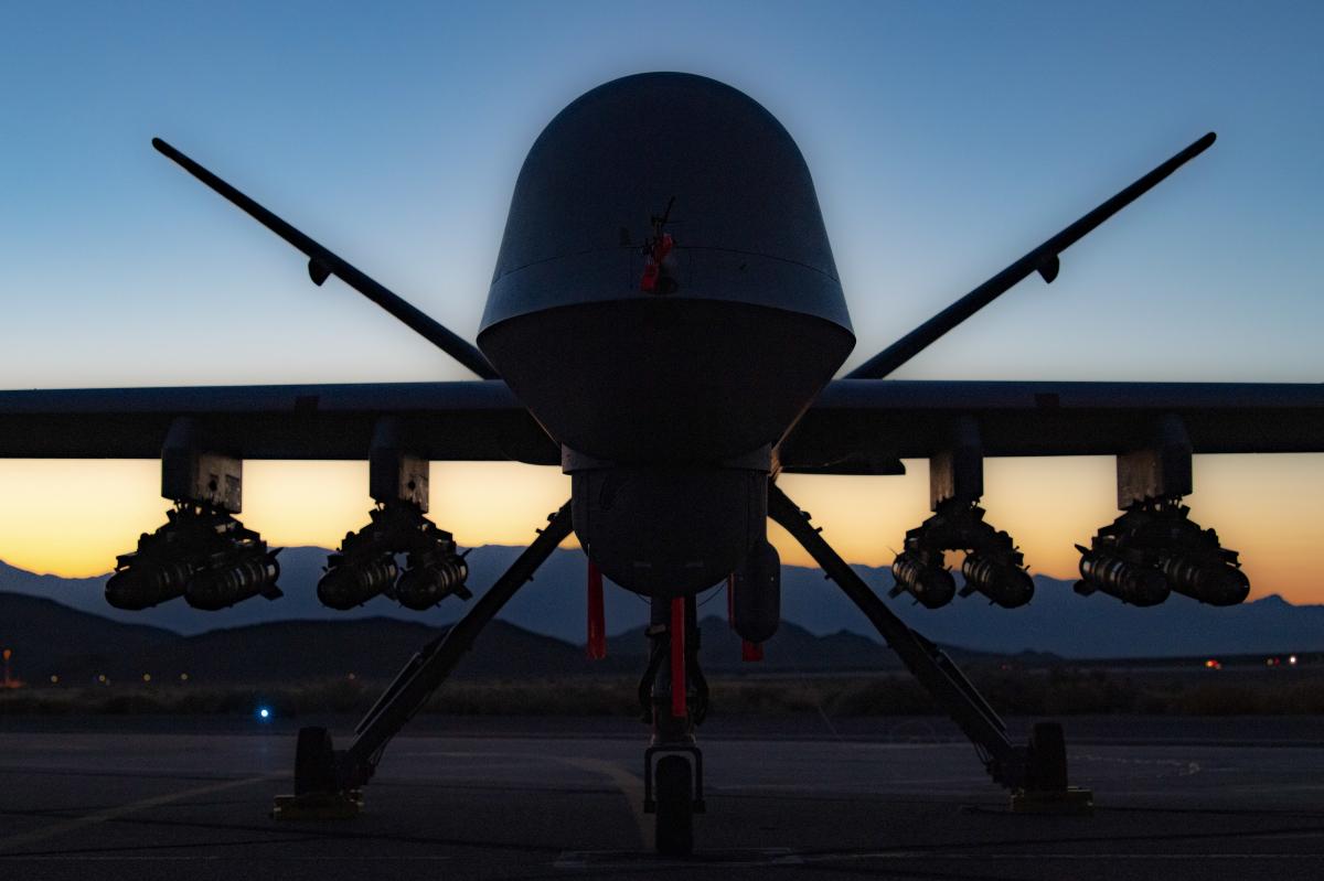 USAF: un Reaper emporte 8 missiles Hellfire