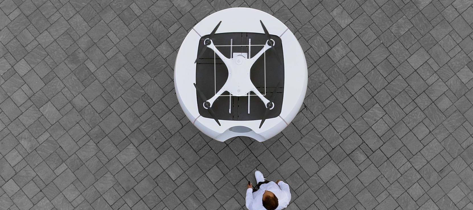 La Suisse teste la livraison d'échantillons médicaux par drones