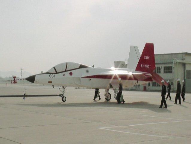Essais de furtivité pour le X-2 japonais