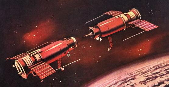 Cosmos 186-188, le premier amarrage automatique