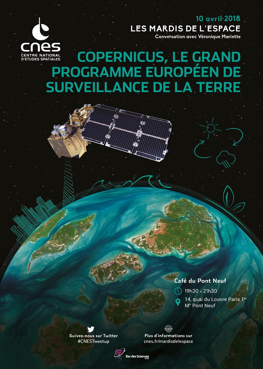 Le programme Copernicus le 10 avril à Paris