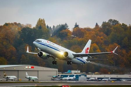 Air China gets China's first Boeing 737 MAX