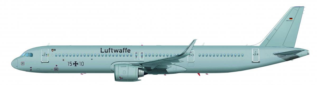 Deux Airbus A321LR pour la Luftwaffe