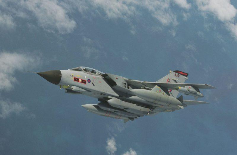 Les Tornado britanniques tirent des missiles Scalp contre Daech