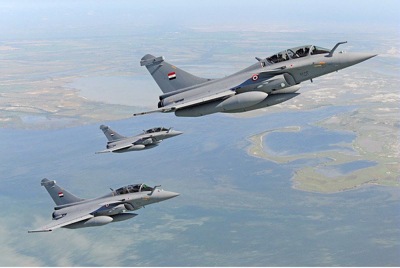Trois Dassault Rafale de plus pour l'Egypte