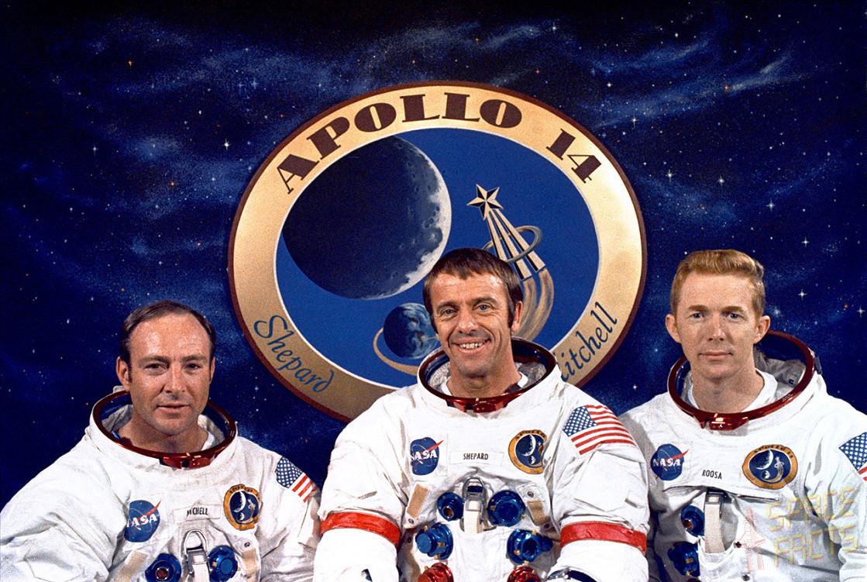 Disparition du sixième homme sur la Lune