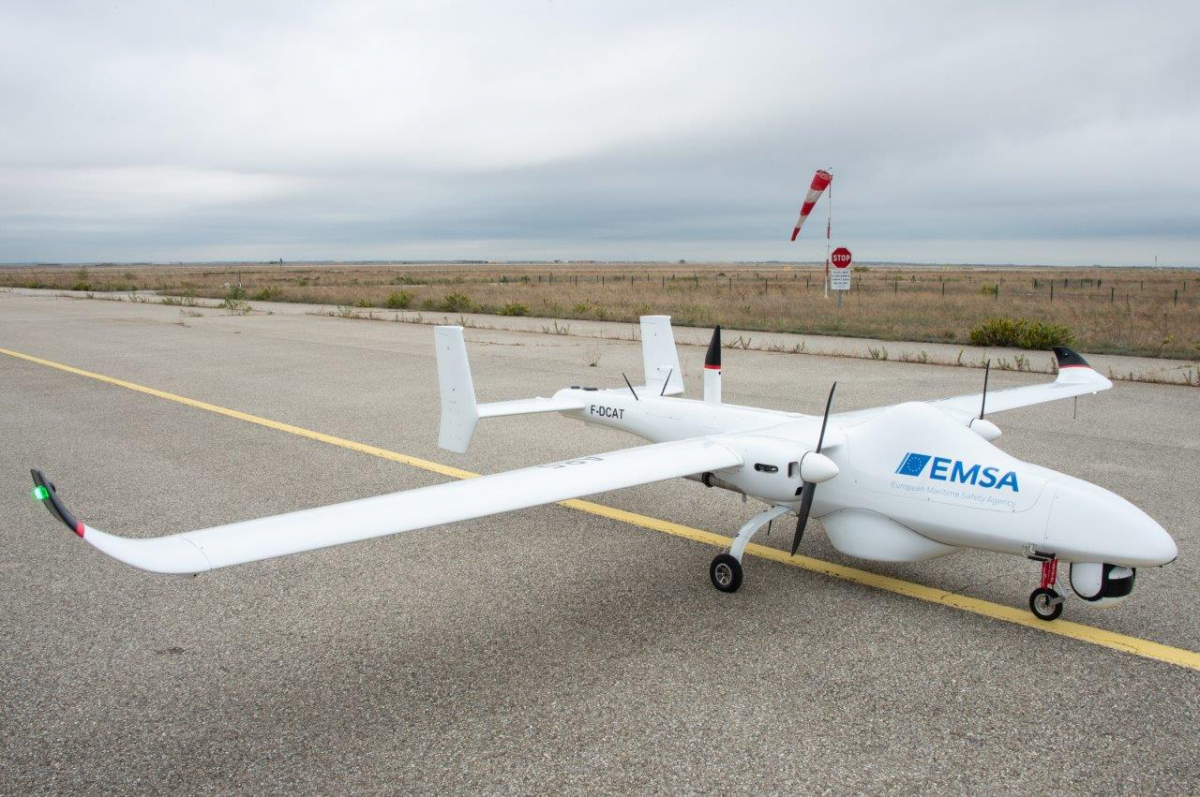 Drones: l'Europe surveille les zones de souveraineté françaises